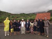 Foto bersama di area rumah Mbah Marijan 2