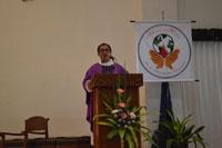 Ekaristi Pambukaan Pertemuan BKU dipimpin oleh Rm. CB Kusmaryanto SCJ