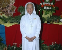 Sr. Afra CB merayakan pesta 60 tahun hidup membiara