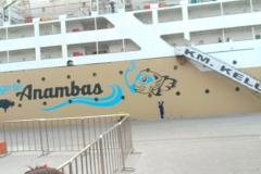 Kapal Kelud Di Pelabuhan Tanjung Priok