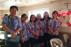 Para Dokter Rumah sakit Carolus di dalam Kapal Kelud