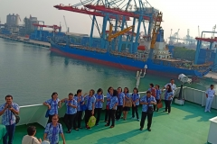 Para Dokter  Rumah Carolus Mengenang  10 suster CB saat tiba di Pelabuhan Tanjung Priok