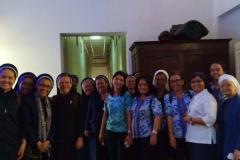 Para Suster CB dan Mitra Kerasulanya di Biara OSU