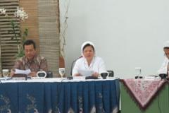 Sr. Sesilia CB membuka Sidang Kapitel di PMB Provinsialat CB Yogyakarta