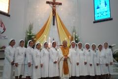 Foto Bersama seusai MIsa Pengikraran Tri Prasetia Kekal