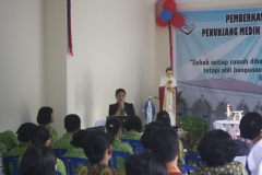 04 Acara Pemberkatan Ruangan Poliklinik Bengkulu
