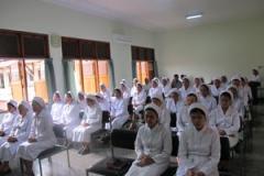 Selama kapitel, para kapitulan mengikuti Ekaristi setiap pkl. 06.00 di Kapel Panti Bina Provinsialat