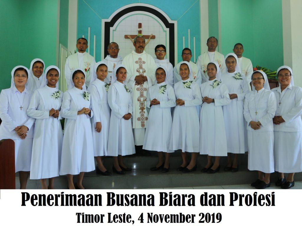 2019 11 04 Kleding Profesi Timor Leste